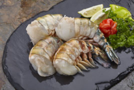 Sea Flower Shrimp Easy Peeled